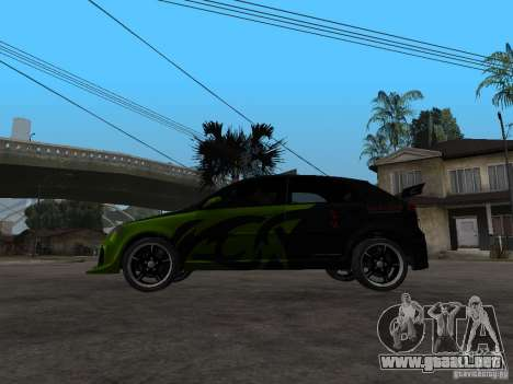 Chevrolet Lacetti Tuning para GTA San Andreas left