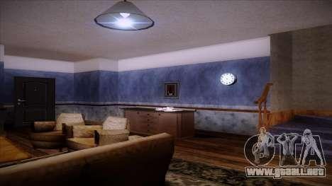 Reloj de pared del trabajo para GTA San Andreas segunda pantalla