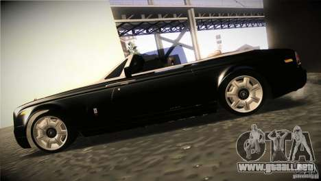 Rolls Royce Phantom Drophead Coupe 2007 V1.0 para GTA San Andreas left