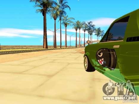 Nissan Sunny K Truck FISH ART para GTA San Andreas vista hacia atrás