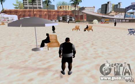 Reality Beach v2 para GTA San Andreas sexta pantalla