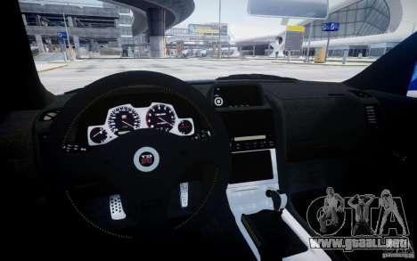 Nissan Skyline GT-R R34 Mspec para GTA 4 vista lateral