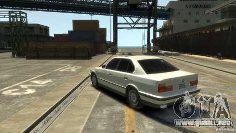 BMW 525i para GTA 4 left