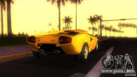Lamborghini Countach para GTA Vice City left