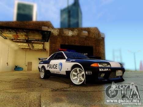 Nissan Skyline R32 Police para GTA San Andreas