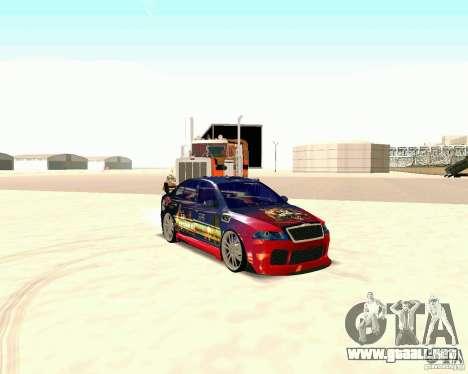 Skoda Octavia III Tuning para GTA San Andreas