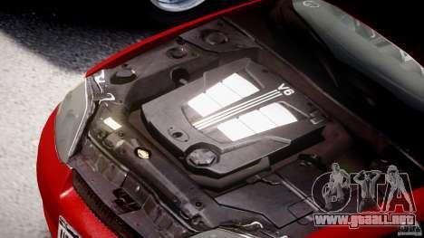 Hyundai Tiburon tunable para GTA 4 vista superior