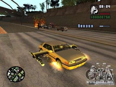 Poner armas en cualquier máquina para GTA San Andreas