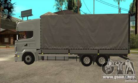 Scania R620 V8 para GTA San Andreas left