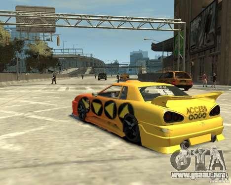 Elegy Tuning para GTA 4 Vista posterior izquierda