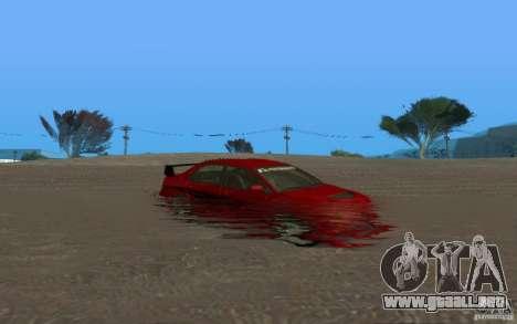 ENB Realistic Water para GTA San Andreas