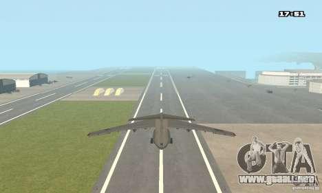 Ilyushin Il-76 MD para GTA San Andreas left