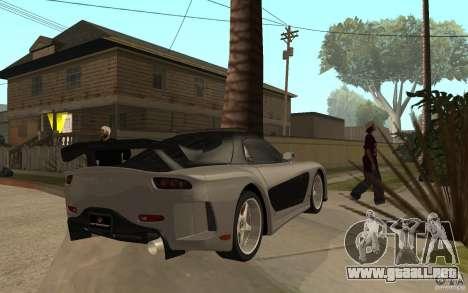 Mazda RX 7 VeilSide Fortune v.2.0 para la visión correcta GTA San Andreas