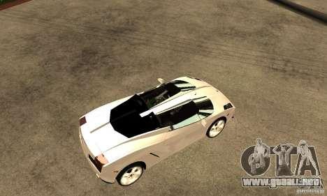 Lamborghini Concept S v2.0 para la visión correcta GTA San Andreas