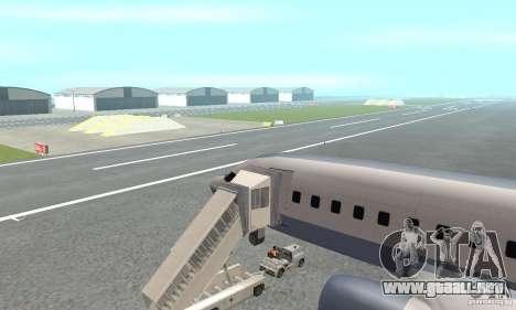 Airport Vehicle para GTA San Andreas quinta pantalla