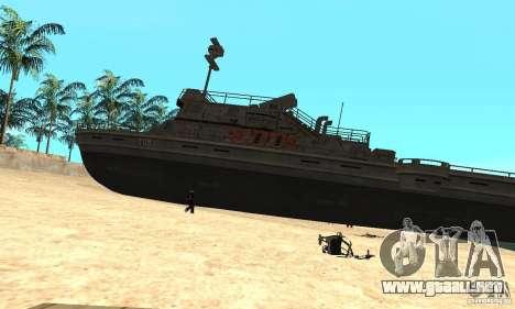Barco para GTA San Andreas left