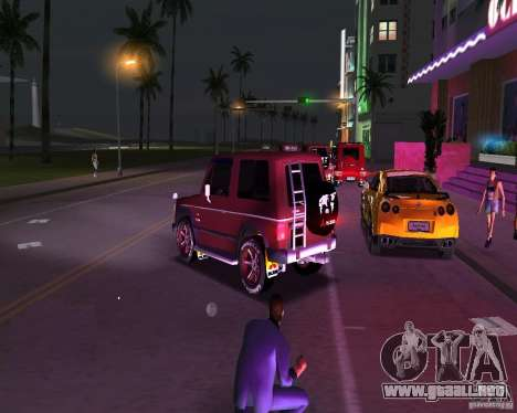 Mitsubishi Pajero para GTA Vice City left