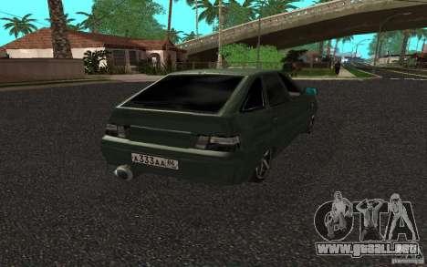 VAZ-2112 v. 2 para GTA San Andreas left