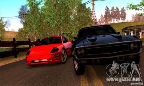 SA gline v4.0 Screen Edition para GTA San Andreas sexta pantalla