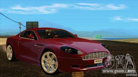 Aston Martin DB9 para GTA San Andreas left