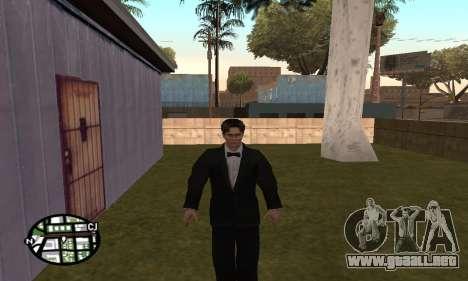 Dark Knight Skin Pack para GTA San Andreas novena de pantalla