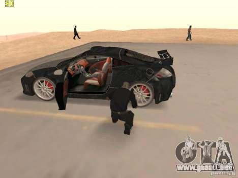 Mitsubishi Eclipse GT NFS-MW para visión interna GTA San Andreas
