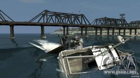 Biff boat para GTA 4 left