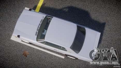 Nissan Skyline 2000 GT-R Drift Tuning para GTA 4 vista interior