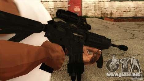 Sensor de ritmo cardíaco M4 para GTA San Andreas tercera pantalla