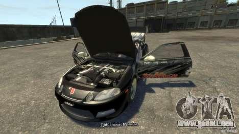 Toyota Soarer Tokage Crew para GTA 4 visión correcta