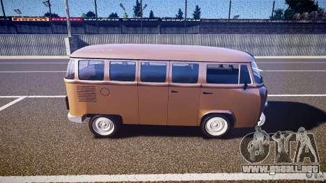 Volkswagen Kombi Bus para GTA 4 left