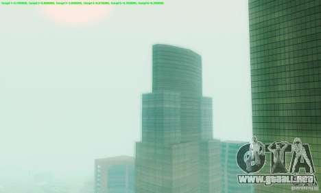 Marty McFly ENB 2.0 California Sun para GTA San Andreas segunda pantalla