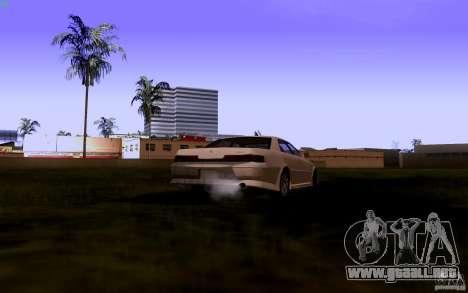 Toyota Mark 2 JZX100 para GTA San Andreas vista hacia atrás