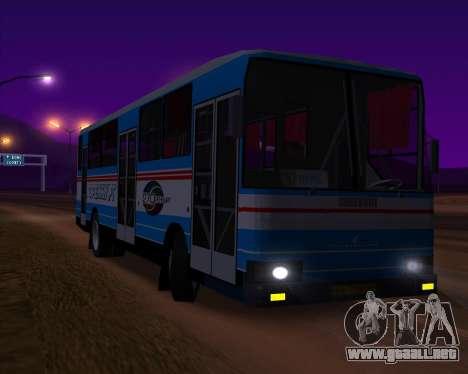 Autosan H10-11B Orenburg para visión interna GTA San Andreas