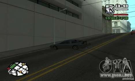 Deriva-Drift para GTA San Andreas sucesivamente de pantalla