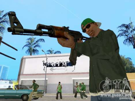 AKC - 47 HD para GTA San Andreas tercera pantalla