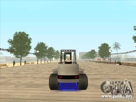 Forklift extreem v2 para GTA San Andreas left