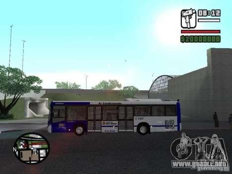 Busscar Urbanuss Ecoss MB 0500U Sambaiba para GTA San Andreas left