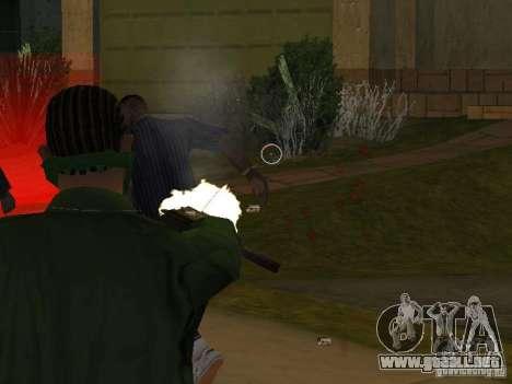 CLEO armas para GTA San Andreas sucesivamente de pantalla