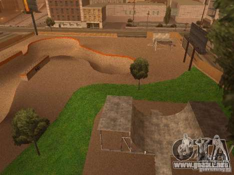 New SkatePark v2 para GTA San Andreas