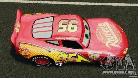 Lightning McQueen para GTA 4 visión correcta