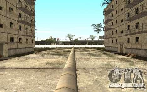 Un pequeño pueblo ruso en Grove Street para GTA San Andreas sexta pantalla
