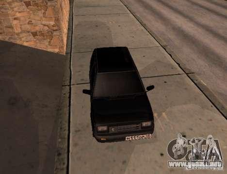 Oka para GTA San Andreas vista posterior izquierda