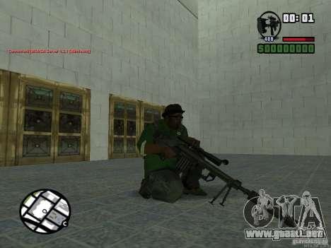 Black Weapon by ForT para GTA San Andreas quinta pantalla