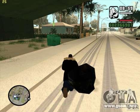 Hacer basura para GTA San Andreas quinta pantalla