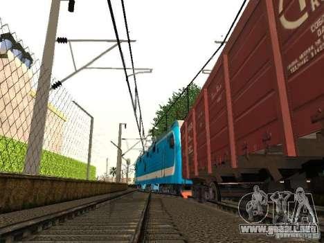 Animtrain para GTA San Andreas quinta pantalla