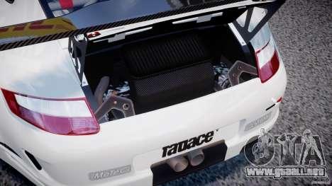 Porsche GT3 RSR 2008 SpeedHunters para GTA 4 vista hacia atrás