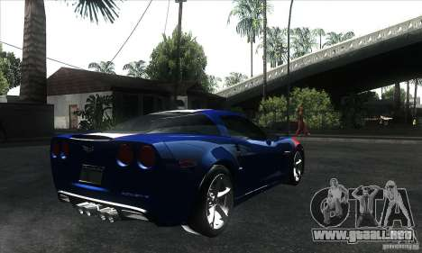 Chevrolet Corvette Grand Sport 2010 para GTA San Andreas interior