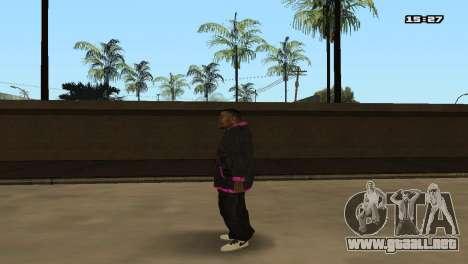 Skin Pack Ballas para GTA San Andreas séptima pantalla