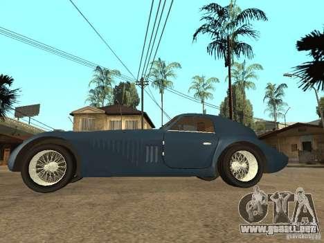 Alfa Romeo 2900B LeMans Speciale 1938 para GTA San Andreas left